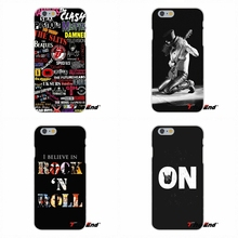Famous Rock And Roll Punk For Samsung Galaxy S3 S4 S5 MINI S6 S7 edge S8 Plus Note 2 3 4 5 Soft Silicone Phone Case(China)