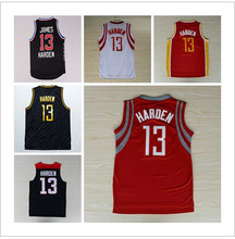 Top Quality Free Shipping #13 James Harden 12# Dwight Howard Jersey, Cheap Basketball Jersey REV 30, Vintage Throwback Embroider