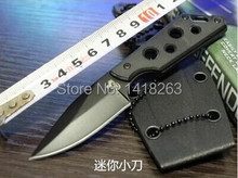 Free Shipping High Quality 58HRC AUS-8 Outdoor Tool Hunting Knife Survial Camping Necklace Knife Rescue Knives(China)