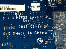 HOT IN RUSSIA !!! Free Shipping PIWG2 La-6753P REV : 1.0 laptop motherboard  for Lenovo G570 Notebook PC