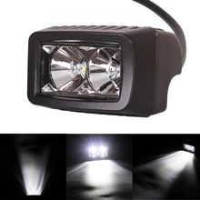 "3"" inch 10W LED Work Light Spot Flood Beam for Auto Car Off Road Light Motorcycle Headlight XBD Waterproof 12V 24V"