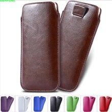 Xiaomi redmi note 5 pro 5A 5 plus mi a2 case Universal Leather Sleeve pouch case black shark Pull Tab Bag Redmi 3s Cover