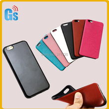 Alibaba Usa Most Popular Items Hard Rubber Tpu Fabric Leather Case For Iphone 6 6s 6G