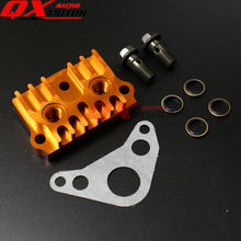 LF/YX 125cc 140cc CNC Oil Cooler Horizontal Engine Cylinder Cover Dirt Pit Bike Monkey Bike Atv Quad Spare Parts Free shipping