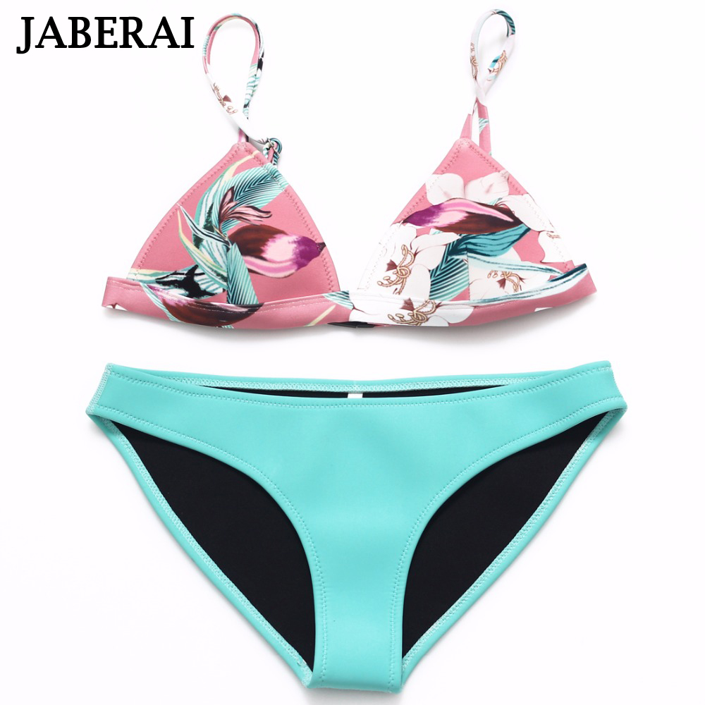 Jaberai Waterproof Swimwear Women 2017 Flower Print Bikini Set Adjustable Strap Push Up Bathing Suit Swimsuit Maillot De Bain 15<br><br>Aliexpress