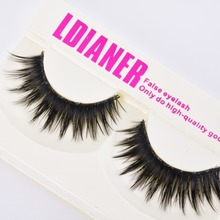 1Pairs Natural Long Black Eye Lashes Makeup Thick Fake False Party Eyelashes