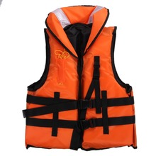 Polyester Adult Life Jacket Universal Swimming Boating Ski Drifting Foam Vest or Drifting Boating Survival Fishing Safety Jacket(China)