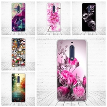 For Nokia 5 Case Luxury Painting Soft Silicone Coque for Nokia 5 funda 5.2 inch Back Cover Cases for nokia 5 Patterned Phone bag