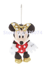 New Minnie Plush Key Chain Mini 15CM Kids Stuffed Animals Toys For Children Gifts