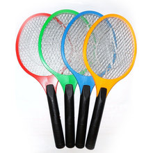 Rechargeable Electric Insect Bug Bat Wasp Fly Mosquito Zapper Swatter Racket Killer Outdoor BBQ Camping Hiking Multicolor(China)