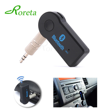 Roreta Wireless Bluetooth Receiver Transmitter Adapter For Car Music Audio Aux 3.5mm Jack A2dp For Headphone Reciever Handsfree(China)