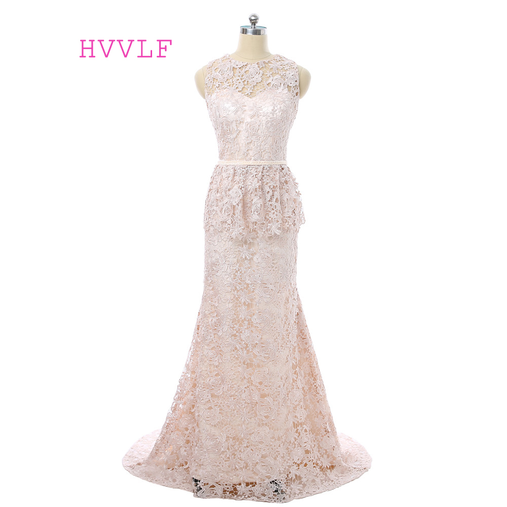 Plus Size 2019 Mother Of The Bride Dresses Mermaid Lace Formal Groom Mother Dresses Long Evening Dresses For Weddings