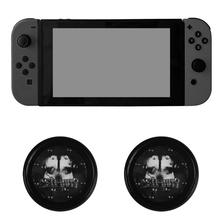 Project Design Jelly ProCap Analog Stick Silicon Caps Cover for Nintendo Switch for NS Entertainment Joy Con Skull Ghost