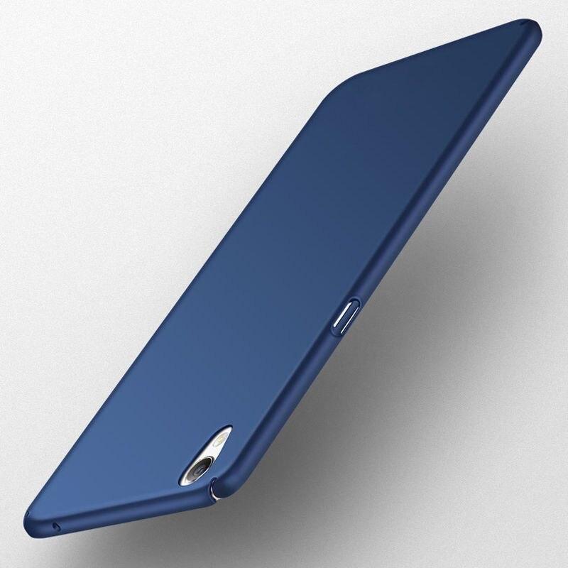 360 degree Protective Ultra Thin Frosted Matte Hard PC Phone Case Cover for Sony Xperia X XA XA1 Ultra X XZ Z5 Compact Fundas