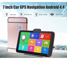 Oriana 7 inch Car GPS Navigation Android 8G 512MB Bluetooth WIFI Russia Navitel/Europe map Truck Vehicle gps Navigator car gps