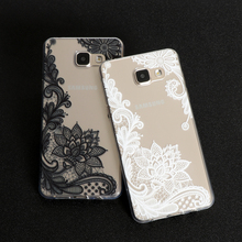 Floral Lace Mandala Vintage Flower Cover For Samsung Galaxy S3 S4 S5 S6 S7 Edge S8 Plus A3 A5 2016 2015 2017 J1 J2 J3 J5 J7 Case