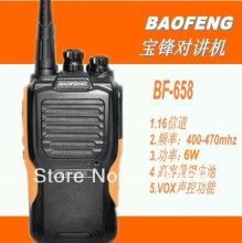 DHL Freeshipping +Baofeng BF-658 commercial transceiver radio uhf handheld radio transmitter long range walkie talkie 5w 10km(China)