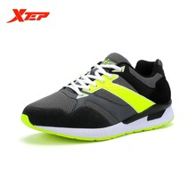 XTEP Brand Running Shoes for Men 2016 Summer Sports Shoes Air Mesh Men's Sneakers Trainer Outdoor Athletic Shoes 984219329565