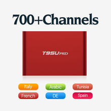 Tv Box Android 6.0 Arabic IPTV Package 626 Europe Sport News Travel IPTV Subscription Strong Wifi Bluetooth 2GB/16G TV Player