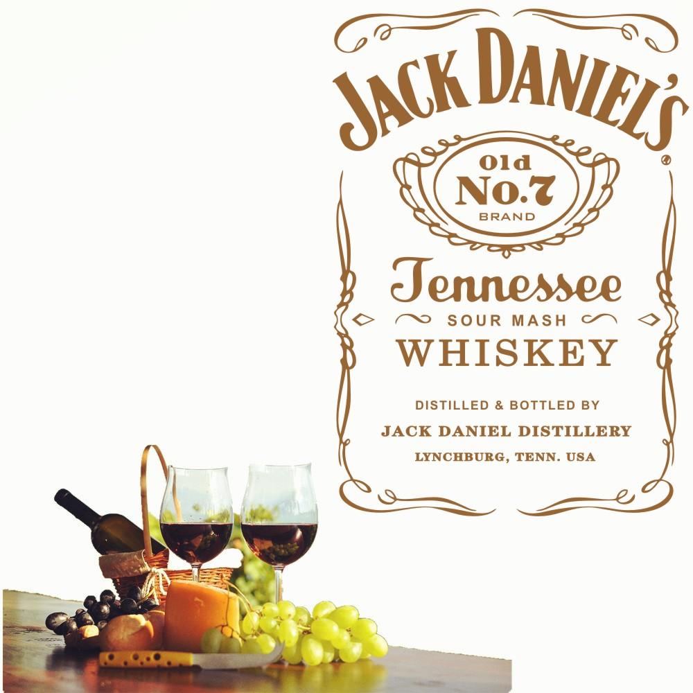HTB15vN zhSYBuNjSspjq6x73VXam - YOYOYU Wall Decals Jack Daniels JD Wall Art Sticker
