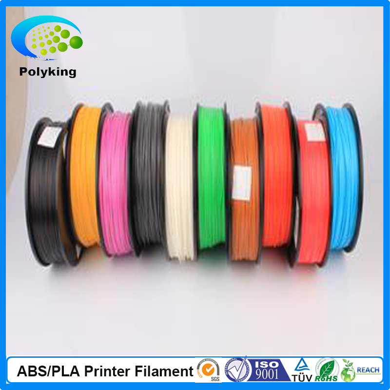 PLA Filament 1.75mm 1kg / 2.2lbs White Color for 3D Printer Plastic Reprap / Wanhao / Makerbot Free Shipping<br>