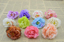 7cm Artificial flowers roses wedding small peony flower head diy handmade decorative flower garlands material