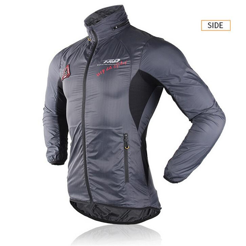 2017 New Windproof Bike Jersey Long Sleeve Coat Breathable Road MTB Men Women Bicycle Cycling Clothes Hooded Cycling Jacket 024<br>