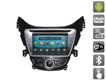 Android 4.2.2 Car DVD for  Hyundai Elantra V (MD) (2010-...) AVIS AVS080AN (#768) with  Capacitive Touch Screen
