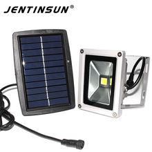 New 6W LED Solar Flat Panel Flood Lamp Outdoor Lighting Waterproof Project Light Solar Power Sensor Lights Garden Decoration(China)