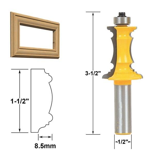 SHK:1/2x1-1/2inch   drawer handle surface panel box cutter knife armrest door kitchen cutter knife Woodworking<br>