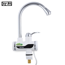 2017 New Kitchen Bathroom Faucet Electric Water Heater Shower Sink Faucets Hot Water Heater Tap with Shower Head for Winter