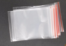 100pcs/lot Jewelry Plastic bag 5x7/6x4cm Ziplock Zipped Lock Reclosable Plastic Poly Clear Bags
