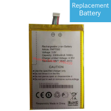 3.8V Replacement Battery For Prestigio PAP7500 PAP 7500 HIKE 828A 828 818 X1 X1D 838 Bateria Batterie Mobile Phone Batteries