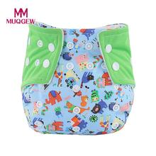Unisex One Size Waterproof Adjustable Swim Diaper Pool Pant 10-40 lbs Swim Diaper Baby Reusable Washable Snap Nappy for 0-3T Ys(China)