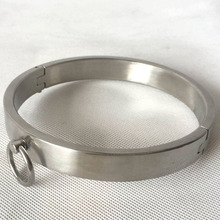 Buy Metal neck collar adult games bdsm bondage fetish wear stainless steel slave collars sex toys erotic products adults