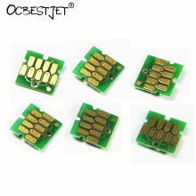 1Set/6Colors T7251 T7252 T7253 T7254 T725A T725A Cartridge Chip For Epson SureColor F2000 Printer