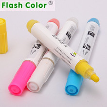 Flashcolor 4 Color Liquid Chalk Markers - Bright Neon Liquid Chalk Premium Artist Quality Marker Pen