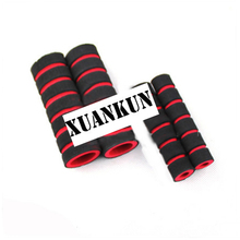 XUANKUN Motorcycle Sponge Hand Sets Sets the Sea Scooter Brake Horn Miantao Antiperspirant Set Modification