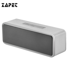 ZAPET NBY-1040 Wireless Bluetooth Speaker Portable Mini Square Box Speaker TF Card USB AUX IPhone Android Phones PC