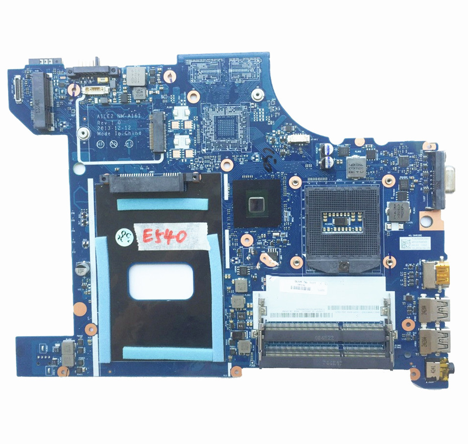 Excellent For lenovo E540 Laptop Motherboard Mainboard PGA947 DDR3 FRU 04X4781 NM-A161 100% working