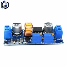 TENSTAR ROBOT 5A Lithium Charger CV CC buck Step down Power Supply Module LED Driver lan(China)