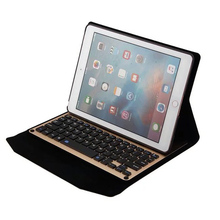 Ultra-Slim Aluminum wireless Bluetooth Keyboard case For iPad Pro 9.7 tablet keyboard magnetic cover for apple Ipad pro 9.7 case(China)