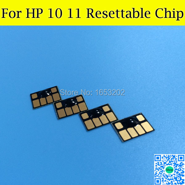 HP11 HP10 Cartridge Chips For HP Officejet 9110 9120 9130 1000 1100 With For HP 11 10<br><br>Aliexpress