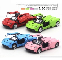 Die cast model ratio 1:36, alloy Pagani car model (TY8893), Metal auto 13.5CM ,boy's toys and collection,Free shipping