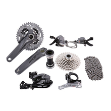 shimano Groupset Alivio M4050 bike bicycle Cycling 9-speed 170mm(China)