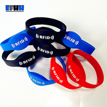 Buy 125Khz EM4305/EM4205 Rewritable RFID Bracelet Silicone Wristband Watch Copy Clone Blank Card Access Control Card for $1.98 in AliExpress store