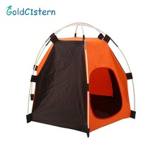 Foldable Hexagonal Pet Dog Tent Detachable Waterproof and Rainproof Pet House Outdoor Camping Travel Dog Cat Tent