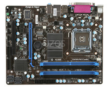 Free shipping 100% original motherboard for MSI G41M-P43 Combo LGA 775 DDR2/DDR3 Motherboard Desktop Boards