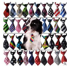 50pc/lot Factory Sale colorful handmade Adjustable Pet Dog Ties Pet Bow Ties Cat Neck ties Dog Grooming Supplies 40 color BN108