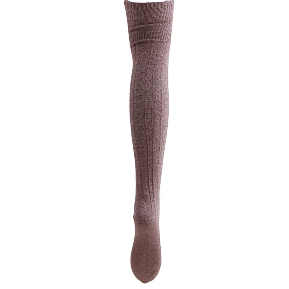 Knee Socks, Women's Cotton Thigh High Over The Knee Stockings, Ladies, Girls, Warm Long Stocking Sexy 42